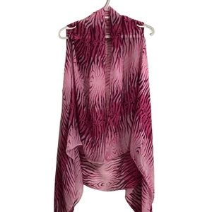 Accents by Lavello convertible scarf vest. 0/S